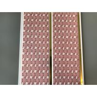 Pink Color water resistant bathroom wall panels Polyvinyl Chloride Material Manufactures