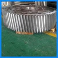 Forged Drive Helical Ring Gear Large Moudle Alloy Steel 17CrNiMo6 Spur Gear Carbon Steel 35# gear Manufactures