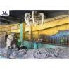 Indoor Museum Life Size Dinosaur Replicas , Sunproof Dinosaur Skeleton Replica Manufactures