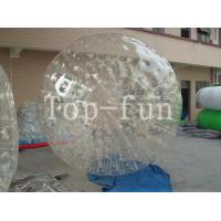 Outdoor Clear Inflatable Zorbing Ball / Big Glass Balls With 1 Year Warranty Manufactures
