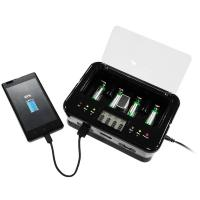 Travel Adapter Alkaline Battery Recharger With LED / LCD Display Manufactures