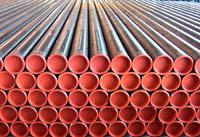 BS1387-85 Black Welded Carbon Steel Pipes X56 X60 X65 X70 X80 Manufactures