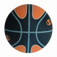 Official Basketball with High Rubber Content and CE Mark, OEM Brands are Welcome Manufactures