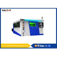 Dual Exchange Working Table Fiber Laser Cutting Machine For Stainless Steel Manufactures