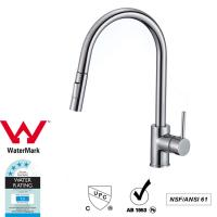 Cupc Lead Free Brass Sink Pull out Mixer Tap 360 Swivel No Corrosion Manufactures