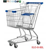 American Style Elderly / Disabled Shopping Trolley , Metal Supermarket Carts Manufactures
