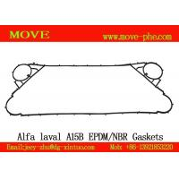 Supply stocked NBR&EPDM alfa-laval replacement A15B,AK20,Clip6,Clip8,Clip10 plate heat exchanger plate gaskets Manufactures