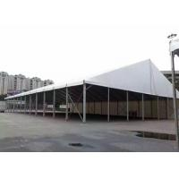 PVC Fabric Luxury Party Tent , Water Resistant Tent For Over 300 People Manufactures