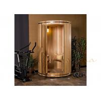 Free Standardizing Vertical Barrel Silo Sauna For Sauna bath , outdoor sauna room Manufactures