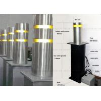 Auto Parking And Traffic Security Bollards , Automatic Retractable Bollards Manufactures