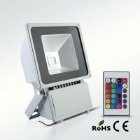 RGB color high brightness and long lifespan 80W LED floodlight Manufactures