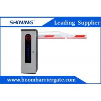 3S Lifting Time Intelligent Car Parking Lot Barrier Gate With Folding Arm Manufactures