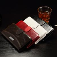 Galaxy Note 5 Samsung Leather Wallet Case Litchi Splitting For Business Manufactures