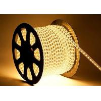 100M Warm White 110/220V High Power SMD5050 Flexible LED strip rope Lights Manufactures