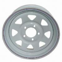 Steel Trailer Wheels Rims, Powder Paint and Galvanized, Size from 13x4.5 to 16x8 Manufactures
