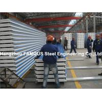 China Corrugated Steel Roofing Sheet Metal Roofing Sheets Sandwich Panel EPS PU Rock Wool on sale