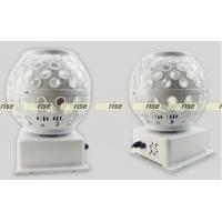 Led Crystal Magic Ball Light , Sound Activated Led Magic Ball Disco Light Manufactures