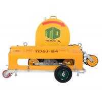 Horizontal Hydraulic Wire Saw Machine With Magnesium Aluminum Alloy Row Wheels Manufactures