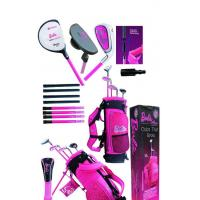 Barbie 2011style children golf club set middle size and big size Manufactures