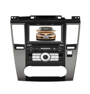 Nissan Tiida Car GPS Navigation System , Vehicle GPS Tracking System Manufactures