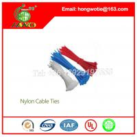 200 Pcs Electric Adjustable Colored Nylon Cable Ties Fasteners 4.8x250mm Manufactures