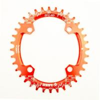 CNC Machining Color Anodized 7075-T6 Aluminum Bicycle Bike BMX Sprocket Manufactures