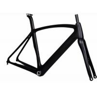Quality Aero 12MM Thru Axel Carbon Road Bike Frame T700 700C With UD / 3K Weave for sale