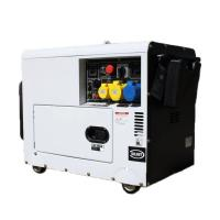 China Petrol Air Cooled Engine Gas Powered Generator 5kw 3kw Power Silent 4 Stroke AVR on sale