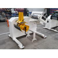 Metal Coil Straightening Machine Manual Expansion 2 In 1 With 7 Pcs Straightening Roller Manufactures