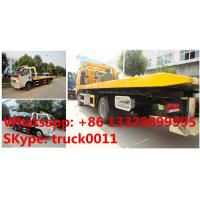 Quality CLW5080TQZ4 dongfeng 120hp 3tons road wrecker truck for sale, factory sale best for sale