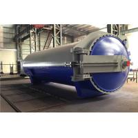 Quality Rubber Vulcanizing Autoclave with safety valve  and chain lock system for sale