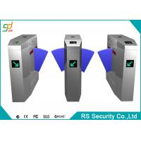 Club Smart Automatic Turnstiles With Alarm Sound LED Count Display Interface Manufactures
