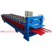 Waterproof Corrugated Roof Tile Roll Forming Machine for Factory , Warehouse , Garage Manufactures