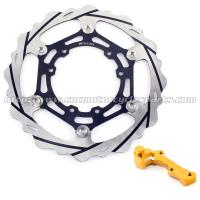 Quality Oversize Motorcycle Braking Brake Rotors Adaptor 270mm For Motocross Parts for sale