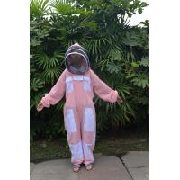 Triple Layer Ventilated Beekeeping Clothing , Bee Proof Clothing With Veil Air Flow Manufactures