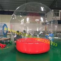 Quality Show inflatable snow globe for event for sale