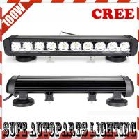 17'' 10pcs*10W 100W LED Off road Light bar,LED Light bar for Truck 4X4 LED Work Light Bar Manufactures