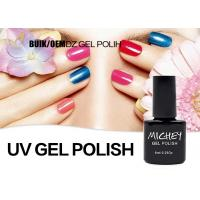 Private Label Non Toxic Gel Nail Polish , Uv Gel Nail Varnish Good Adhesive Manufactures