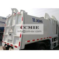 Sealed Hydraulic Side Loading Special Vehicles for City Garbage Collection Manufactures