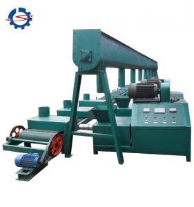 China 50-80mm briquette making rice husk briquette device Charcoal briquette machine from sawdust on sale