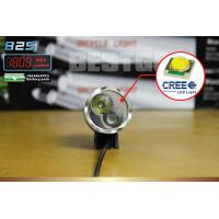 8.4V DC Rechargeable LED Bicycle headlight 1800 Lumens 4 switch Mode Manufactures