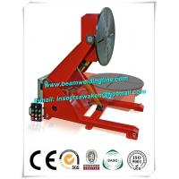 Electronic Rotation Pipe Weld Positioners , Hydraulic Lifting Tilting Positioner Manufactures
