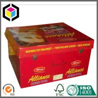 China Manufacturer Red Color Print Corrugated Storage Box; Cardboard Box Manufactures