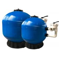 China Fiberglass Swimming Pool Side Mount Sand Filter For Swimming Pool Water Filtration on sale