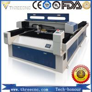Promotion red season. laser wood cutting machine price TL2513-280W . THREECNC Manufactures