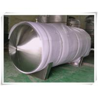 Food Grade Stainless Steel Compressed Air Holding Tank , Stainless Steel Storage Tanks Manufactures
