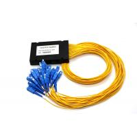 PLC Digital Optical Cable Splitter , Optical Wire Splitter ABS 1 * 32 For Network Manufactures