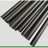 High glossy quality of 3K carbon fiber tube Manufactures