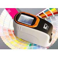 360-740nm Wavelength Portable Color Spectrophotometer SCI And SCE Test Mode Manufactures