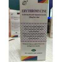 Erythromycin Oral Suspension 125MG / 5ML 60ML , 250MG / 5ML 60ML Manufactures